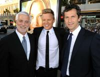 Rob Friedman, Chris Egan and Erik Feig at the premiere of