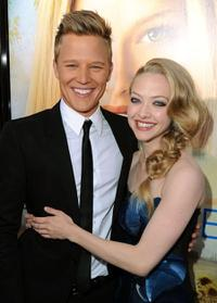 Chris Egan and Amanda Seyfried at the California premiere of