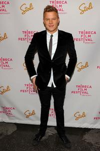 Chris Egan at the New York premiere of