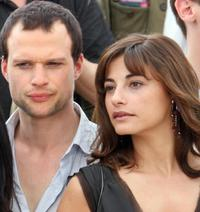 Axel Kiener and Julie Bataille at the photocall of