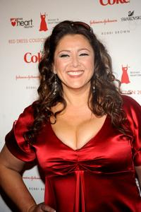 Camryn Manheim at the Heart Truth's Red Dress Collection fashion show during Mercedes-Benz Fashion Week Fall 2008.