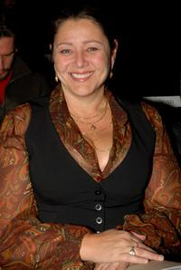 Camryn Manheim at the Earth Pledge presents FutureFashion show.