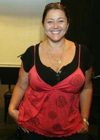 Camryn Manheim at the rehearsal for the benefit reading of