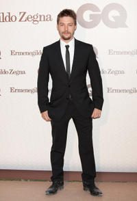 Jan Cornet at the GQ Elegant Men of the Year Awards 2011 in Madrid.