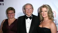 Claude Mann, Alfred Mann and Mary Hart at an evening with Larry King & friends charity fundraiser.