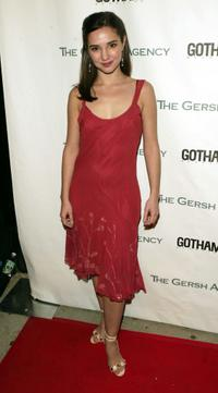 Laura Breckenridge at the Gersh Agency and Gotham Magazine party.