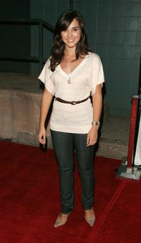 Laura Breckenridge at the premiere of
