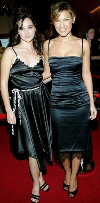 Laura Breckenridge and Kiele Sanchez at the Seventh Annual Family Television Awards.