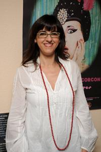 Llum Barrera at the premiere of