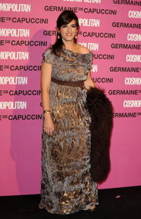 Llum Barrera at the 2008 Cosmopolitan Awards.