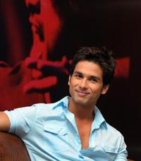 Shahid Kapoor at the press conference to promote