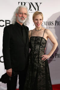 Terrence Mann and Charlotte d'Amboise at the 67th Annual Tony Awards in New York.