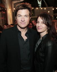 Actor Jason Bateman and Amanda Bateman at the L.A. premiere of