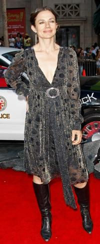 Justine Bateman at the premiere of