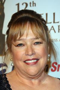 Kathy Bates at the 12th Satellite Awards organize by the International Press Academy.