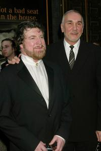 Alan Bates and Frank Langella at the 56th Annual Tony Awards.