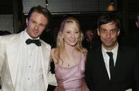 Coley Laffoon, Anne Heche and Joe Mantello at the 2004 Tony Awards Gala.