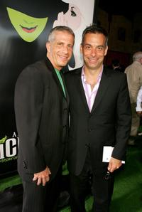 Marc Platt and Joe Mantello at the Los Angeles premiere of