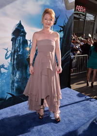 Lesley Manville at the World premiere of