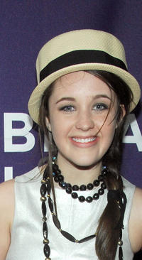 Savannah Stehlin at the New York premiere of