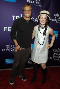 Producer Chad Allen and Savannah Stehlin at the New York premiere of