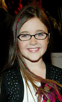 Savannah Stehlin at the world premiere of