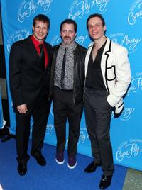 John Selya, Alexander Brady and Keith Roberts at the Broadway opening of