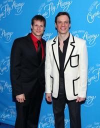 John Selya and Keith Roberts at the Broadway opening of