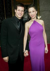 John Selya and Ashley Tuttle at the 57th Annual Tony Awards.