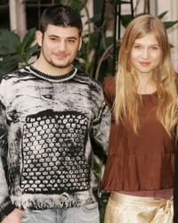 Stanislav Ianevski and Clemence Poesy at the photocall of