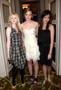 Evanna Lynch, Emma Watson and Katie Leung at the Sony Ericsson Empire Awards 2008.