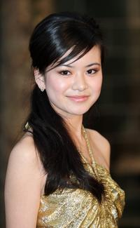Katie Leung at the European premiere of