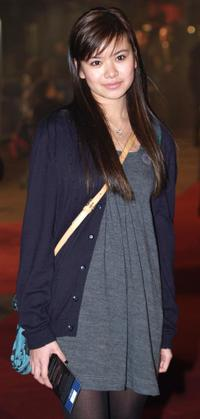 Katie Leung at the world premiere of