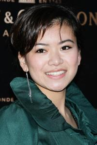 Katie Leung at the Moet and Chandon