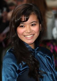 Katie Leung at the UK premiere of