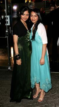 Afshan Azad and Shefali Chowdhury at the world premiere of