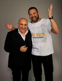 Omid Djalili and Ahmed Ahmed at the Tribeca Film Festival 2010.