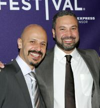 Maz Jobrani and Ahmed Ahmed at the Doha Tribeca Film Festival premiere of