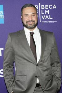 Ahmed Ahmed at the Doha Tribeca Film Festival premiere of