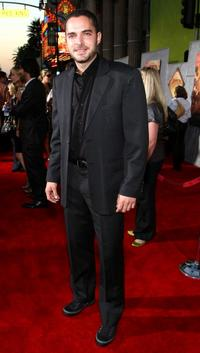 Manolo Cardona at the world premiere of