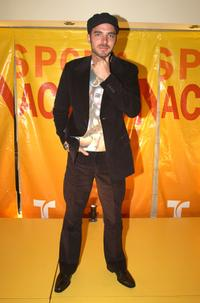 Manolo Cardona at the Telemundo Network's upfront preview party.
