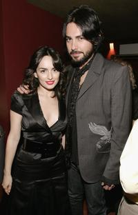 Ana de la Ruguera and Beto Cuevas at the after party of the premiere of