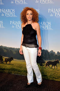 Cristina Marcos at the Paris premiere of