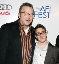 Tom Arnold and Eric Gores at the world premiere of