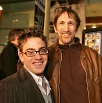 Eric Gores and Richard Edson at the world premiere of