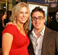 Tiffany Martin and Eric Gores at the world premiere of