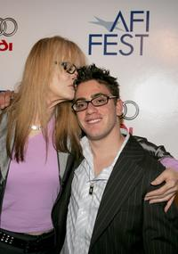 Penelope Spheeris and Eric Gores at the world premiere of