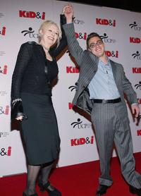 Penelope Spheeris and Eric Gores at the premiere of