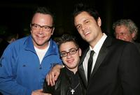 Tom Arnold, Eric Gores and Johnny Knoxville at the after party of the Hollywood premiere of