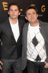 Paco Leon and Mariano Pena at the premiere of